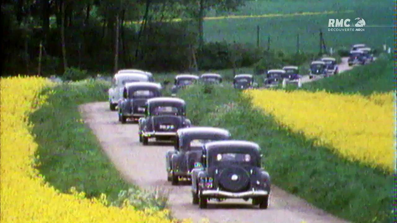 Documentaire Les grandes heures de l'automobile française (2/3)
