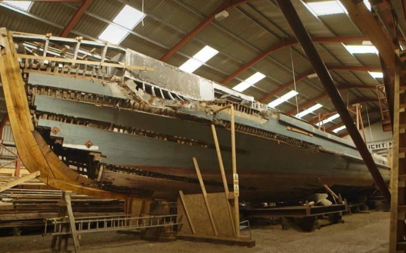 Documentaire Navires de guerre – Les premiers vaisseaux