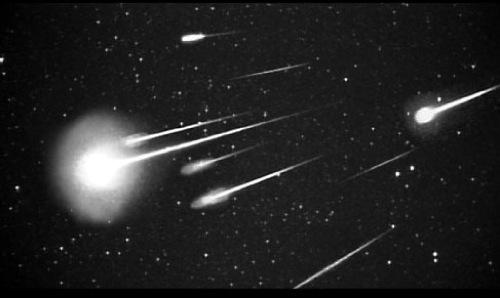 Documentaire Pluie de météorites