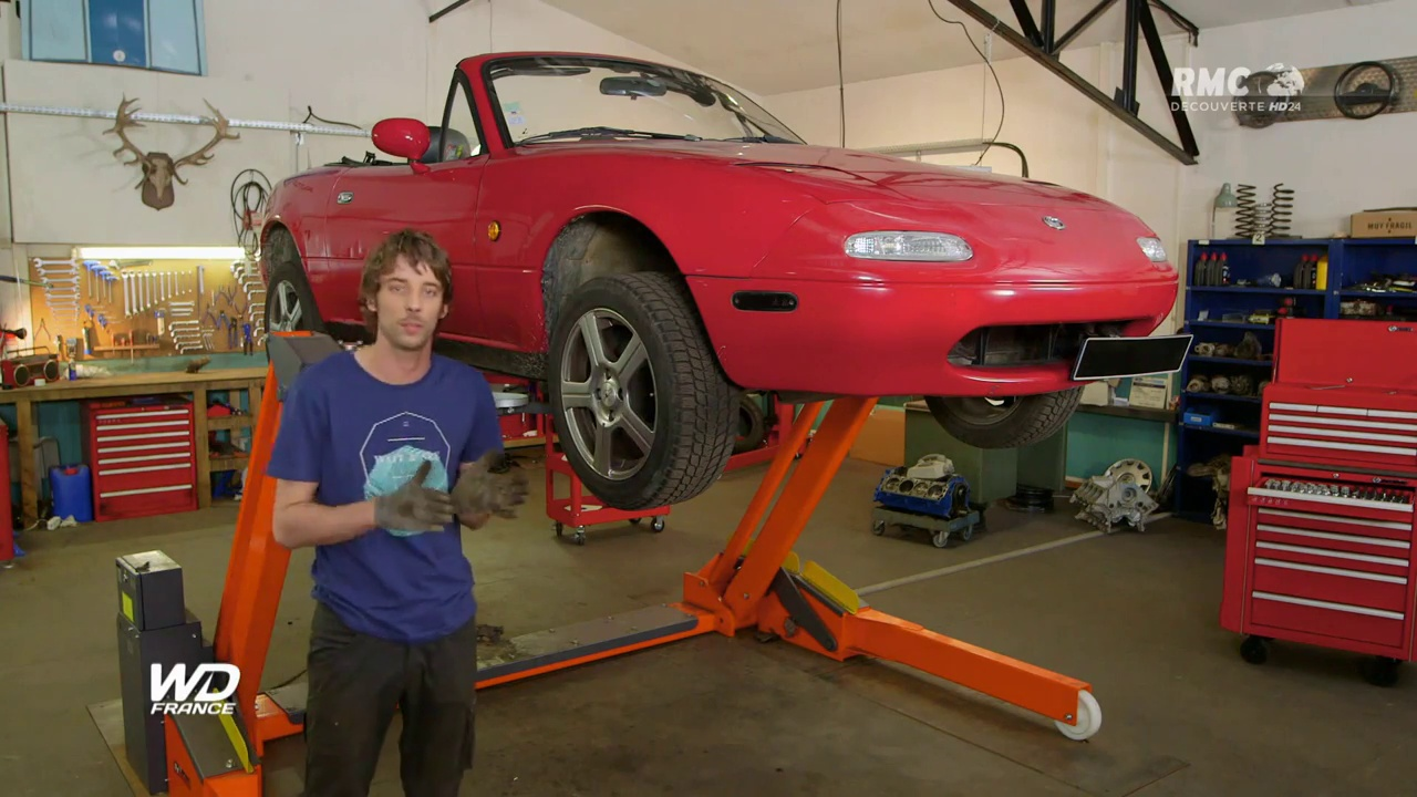 Documentaire Wheeler Dealers France – Mazda MX5