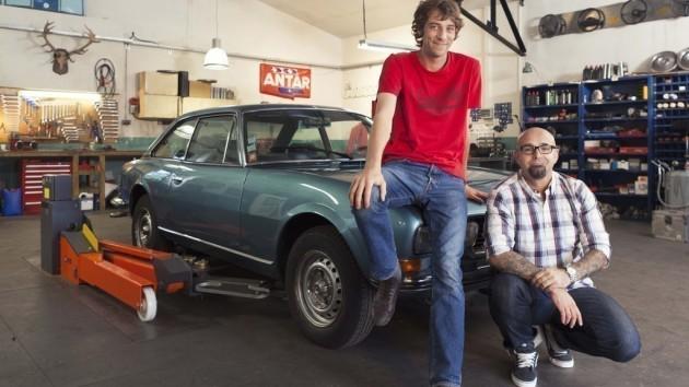 Documentaire Wheeler Dealers France – Peugeot 504 coupé V6