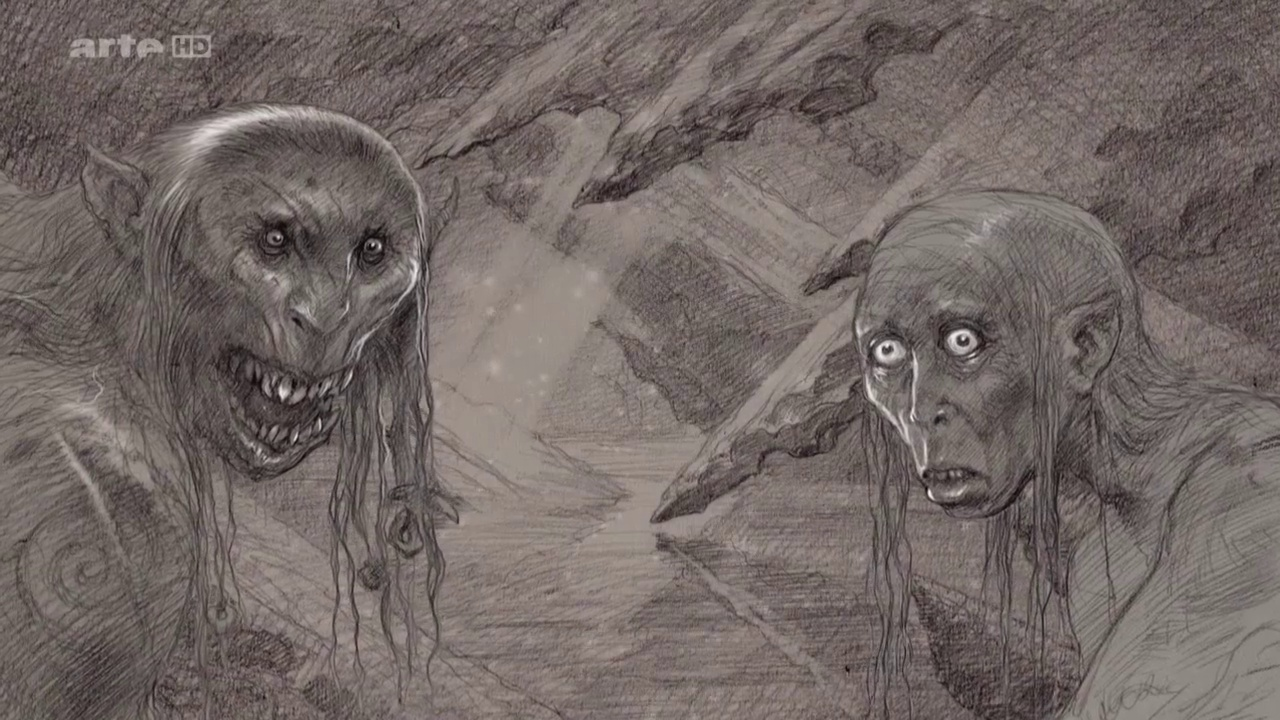 Documentaire À la recherche du Hobbit – 5/5 – Les créatures du Nord