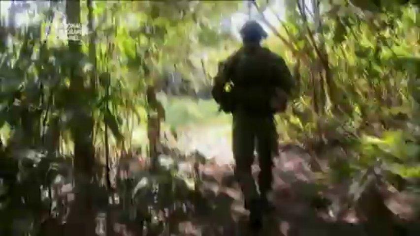 Documentaire Cocaine War – 3/4 – Sous l'eau
