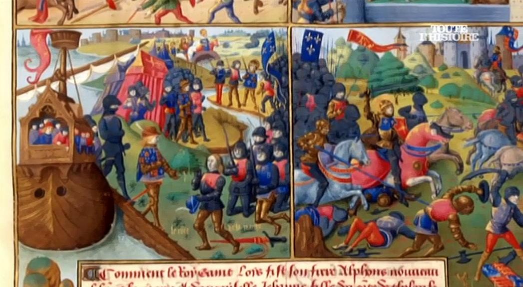 Documentaire Les rois de France, 15 siècles d'histoire – Louis IX, Saint-Louis (07/30)