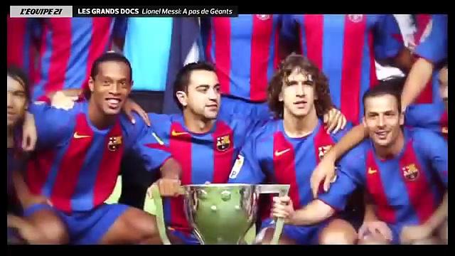 Documentaire Lionel Messi, à pas de géant