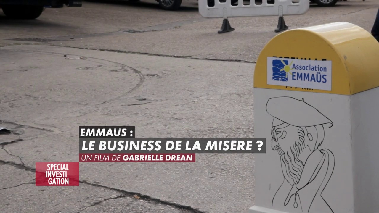 Documentaire Emmaus, le business de la misère ?
