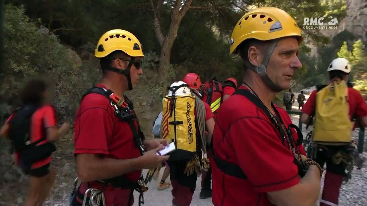 Documentaire Le bataillon de marins-pompiers de Marseille – Urgence dans les calanques