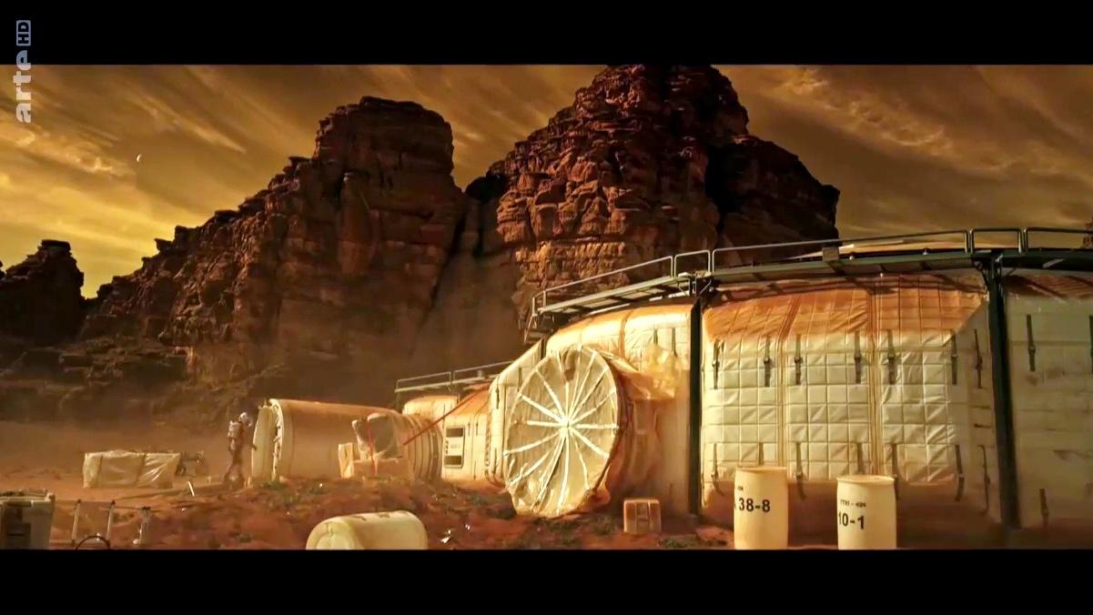 Documentaire Mission Mars, le programme spatial européen