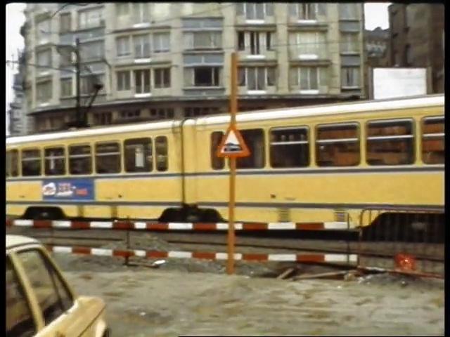 Documentaire Trams en Belgique, dans les années 80s