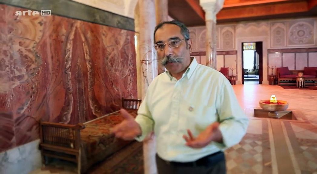 Documentaire Trésors oubliés de la Méditerranée – Palais du baron d'Erlanger, Tunisie