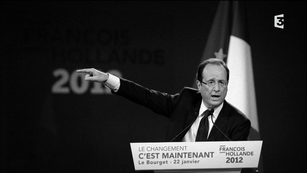 Documentaire François Hollande, dernier jour à l'Elysée