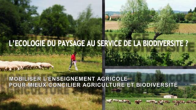 Documentaire L'écologie du paysage au service de la biodiversité ?