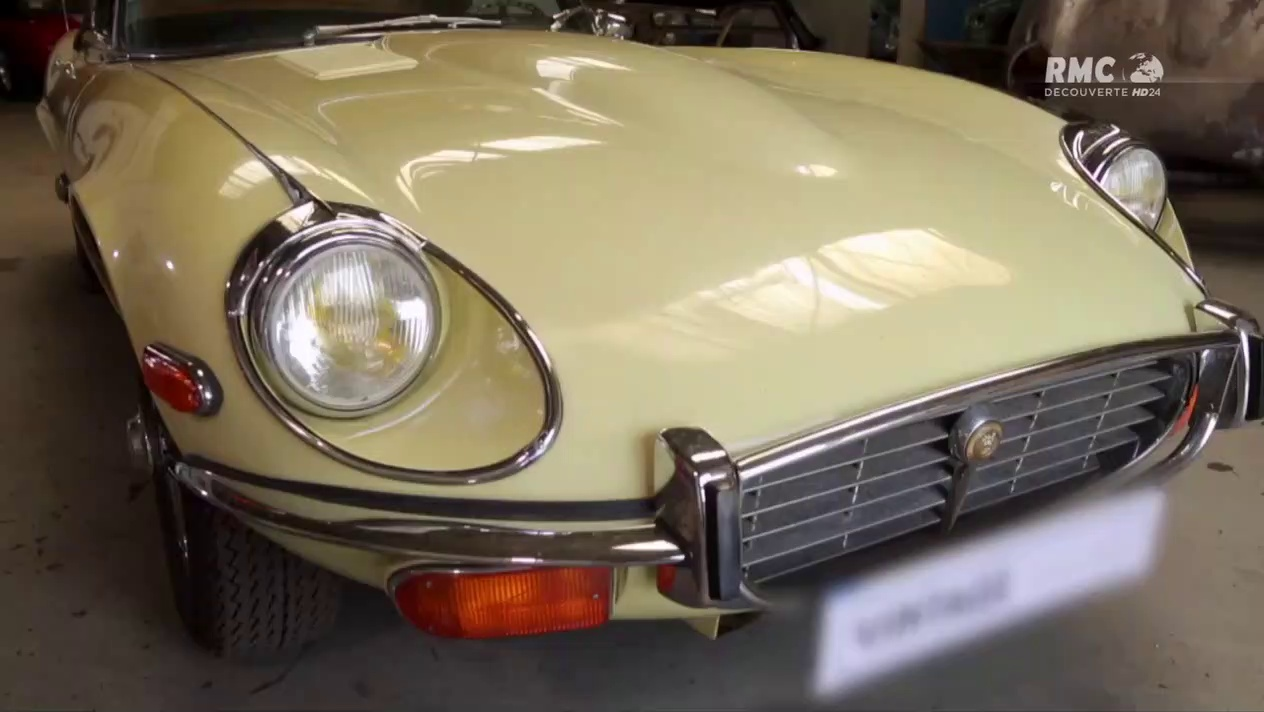 Documentaire Vintage mecanic – La Jaguar type E cabriolet