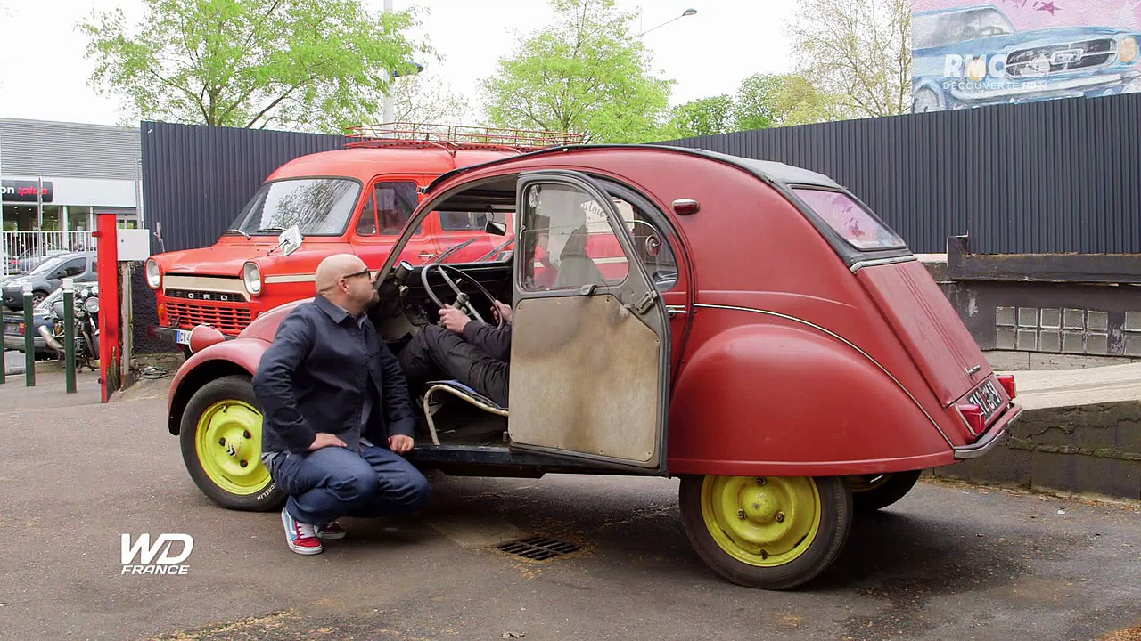 Documentaire Wheeler dealers france – Citroën 2cv