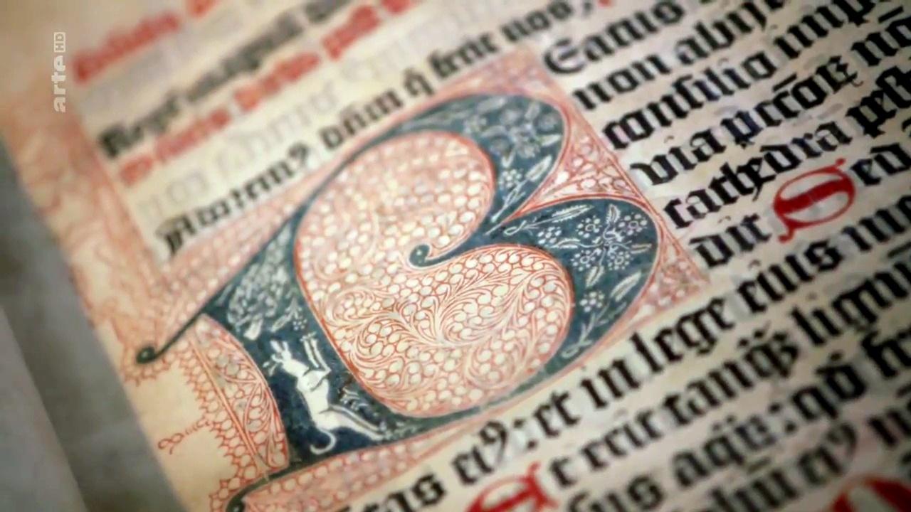 Documentaire Gutenberg, l'aventure de l'imprimerie (1/2)