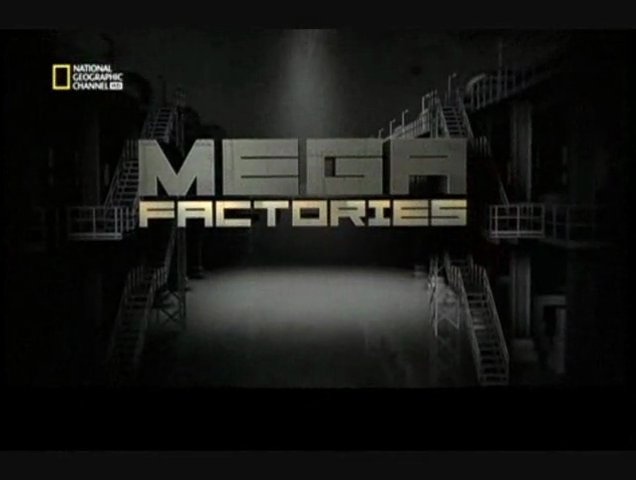 Documentaire Megafactories – Montagnes russes