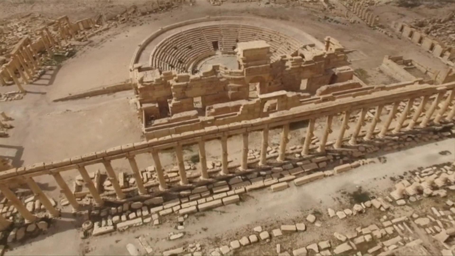 Documentaire Palmyre, patrimoine menacé