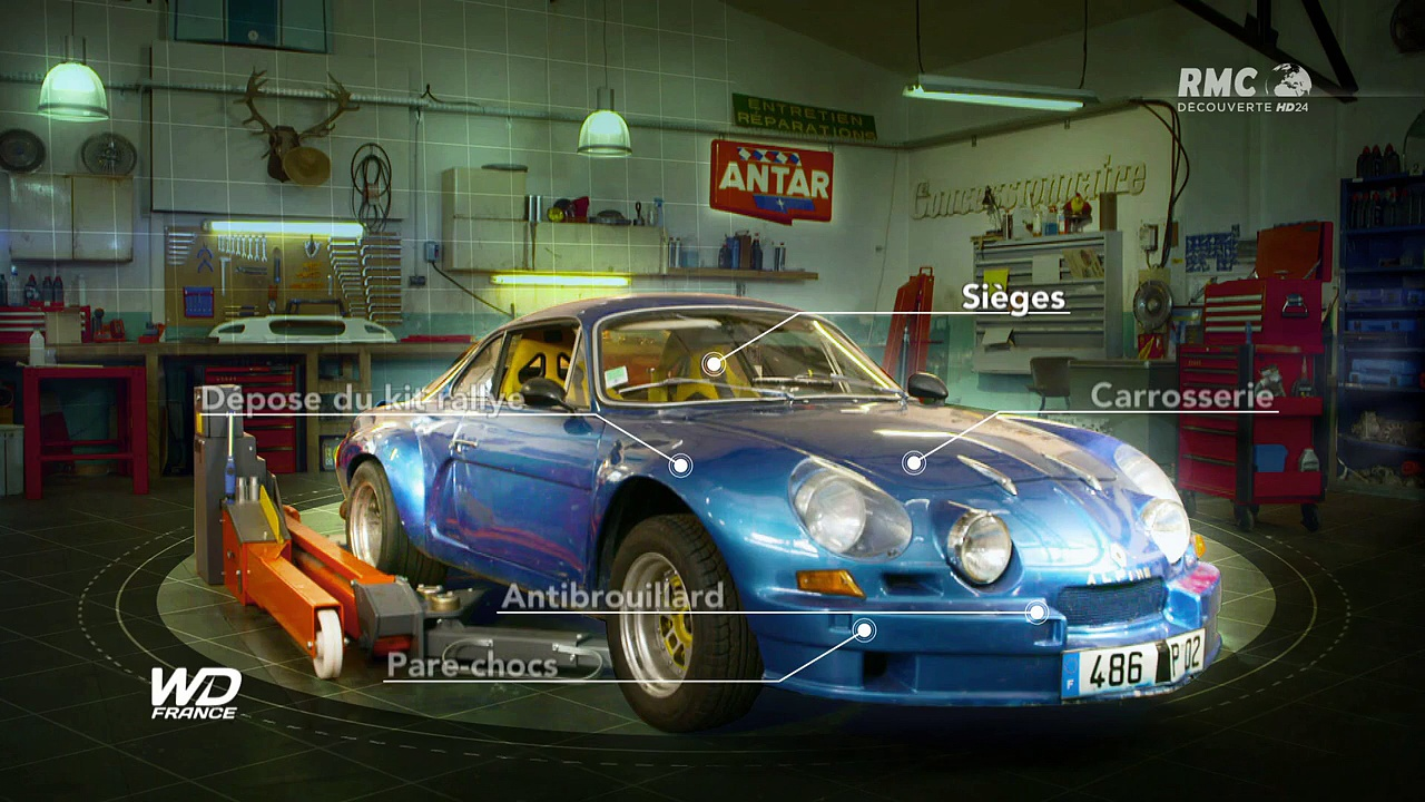 Documentaire Wheeler Dealers France – Alpine A110