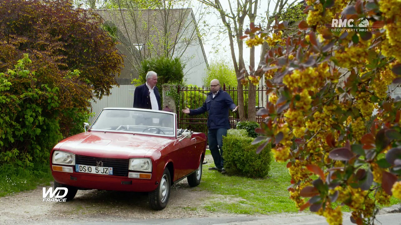 Documentaire Wheeler Dealers France – Peugeot 304 cabriolet