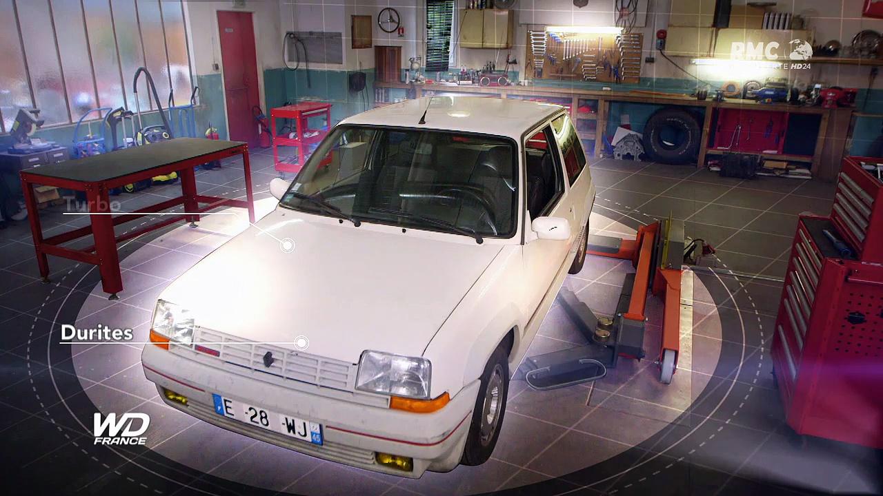 Documentaire Wheeler Dealers France – Renault Super 5 GT Turbo