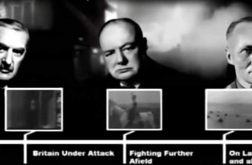 Documentaire La grande histoire de la seconde guerre mondiale – 12/24 – La fin de la marche victorieuse