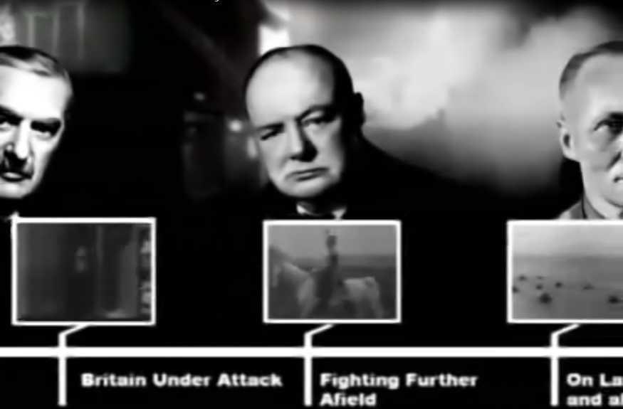 Documentaire La grande histoire de la seconde guerre mondiale – 21/24 – Le 3ème Reich vacille