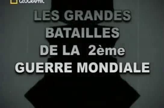 Documentaire Les grandes batailles de la seconde guerre mondiale – El Alamein Octobre 1942
