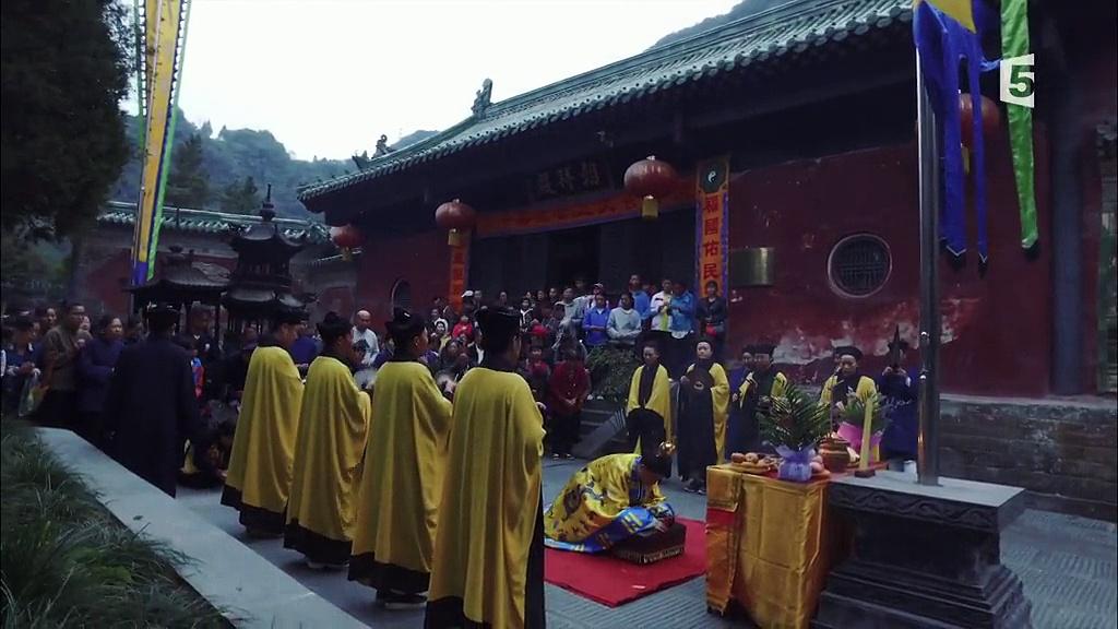 Documentaire Les montagnes sacrées du Wudang