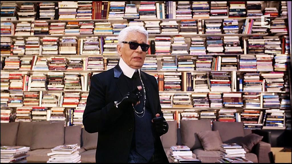Documentaire Yves Saint Laurent – Karl Lagerfeld, une guerre en dentelles