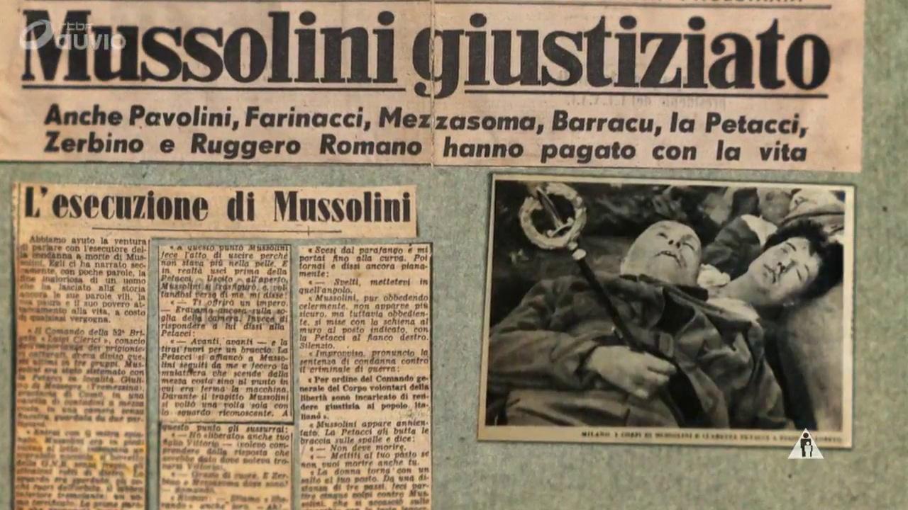 Documentaire Les 3 morts de Mussolini (2/2)