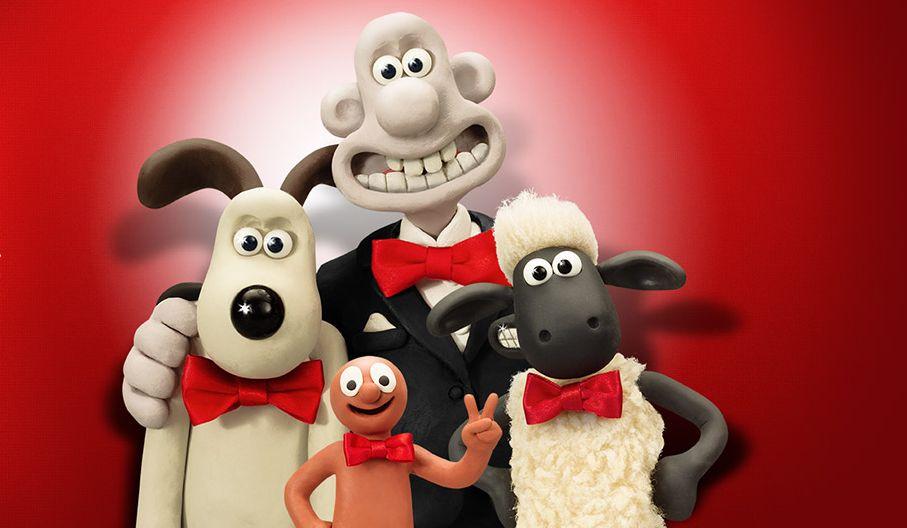 Documentaire Au coeur de l'animation Aardman : de la pâte à modeler à Wallace et Gromit