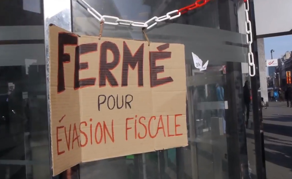 Documentaire Tentative d'évasion fiscale