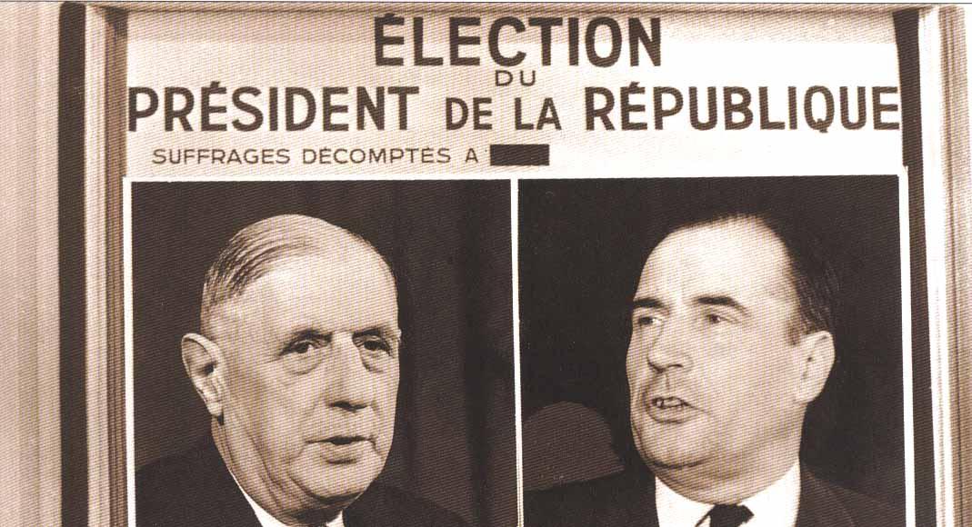 Documentaire 1965, première campagne pour l'Elysée
