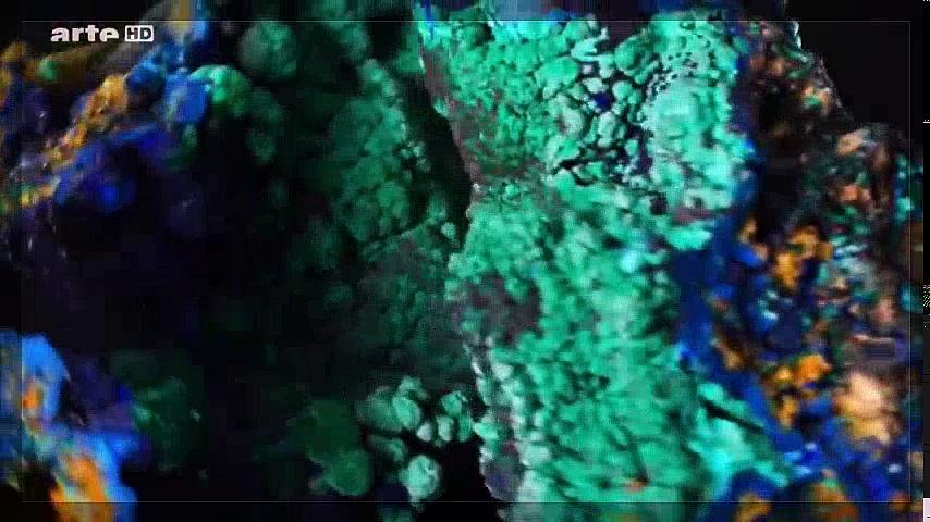 Documentaire L'histoire de l'évolution des minéraux