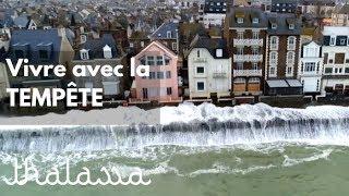 Documentaire Vivre avec la tempete à Saint-Malo