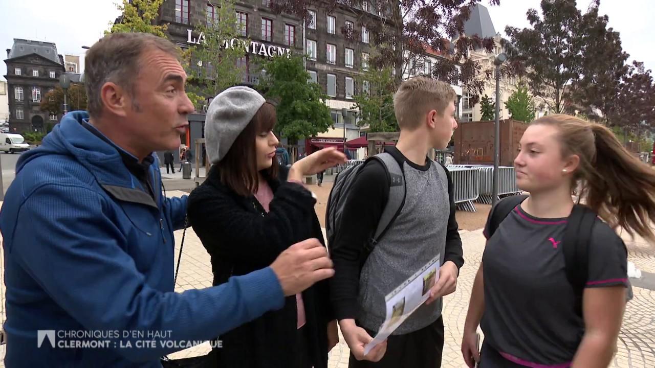 Documentaire Chroniques d'en Haut – Clermont-Ferrand, la cité volcanique