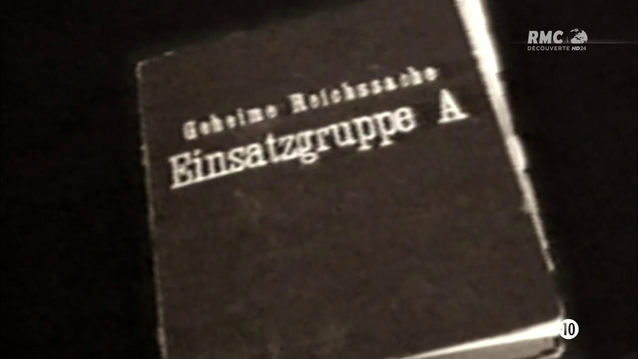 Documentaire Einsatzgruppen, les commandos de la mort (4/4)