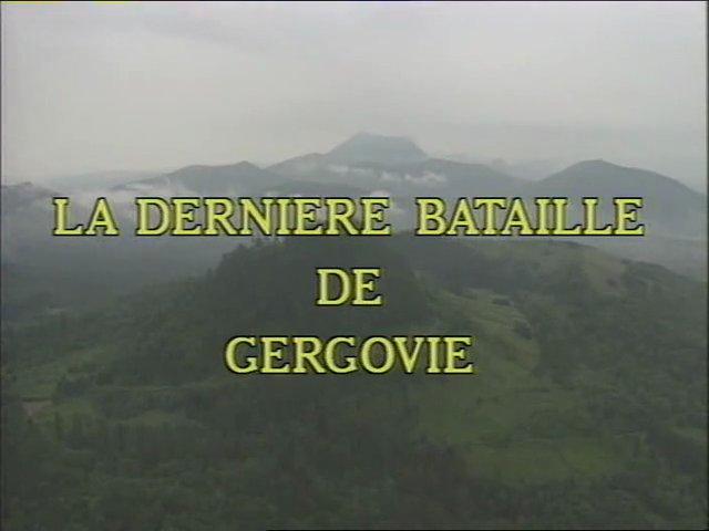 Documentaire La dernière bataille de Gergovie