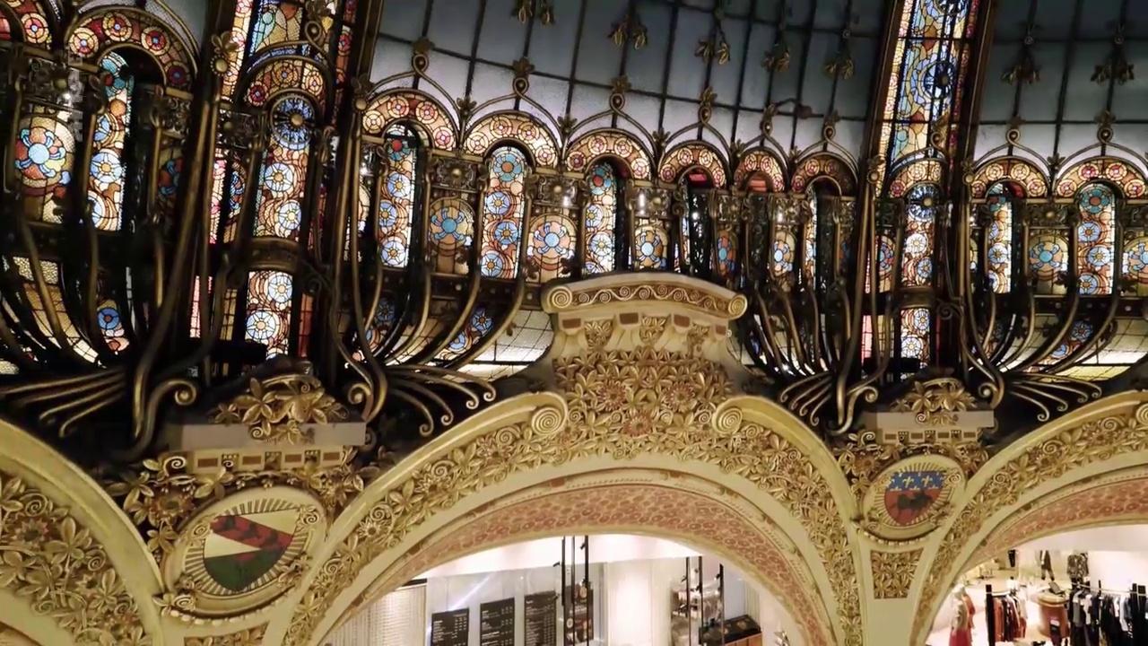 Documentaire Les grands magasins, ces temples du rêve – Les Galeries Lafayette Paris