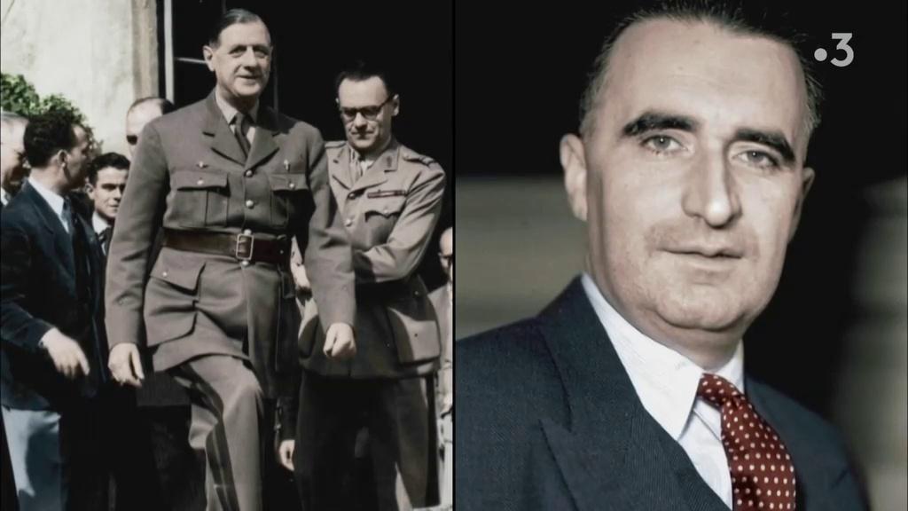 Documentaire De Gaulle et Pompidou, jusqu'à la rupture (1/2)