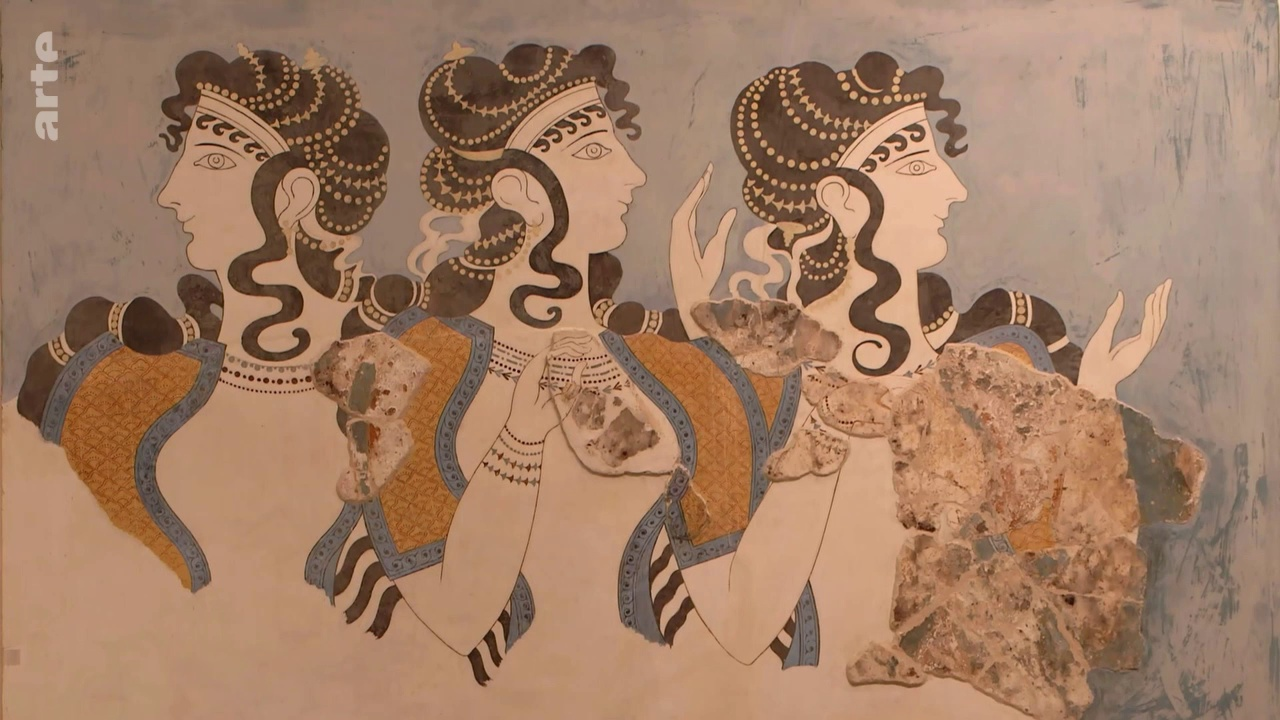 Documentaire Enquêtes Archéologiques – Crète, le mythe du labyrinthe