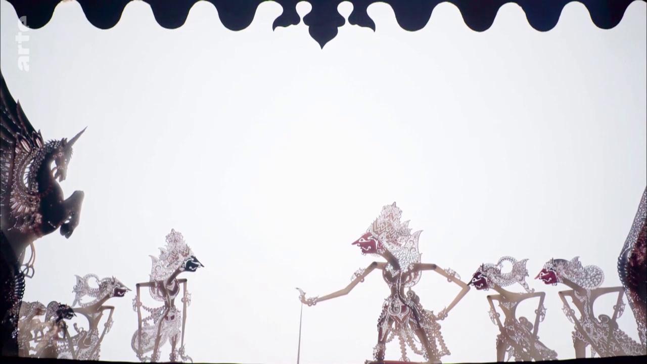 Documentaire Java, la magie du théâtre d'ombres