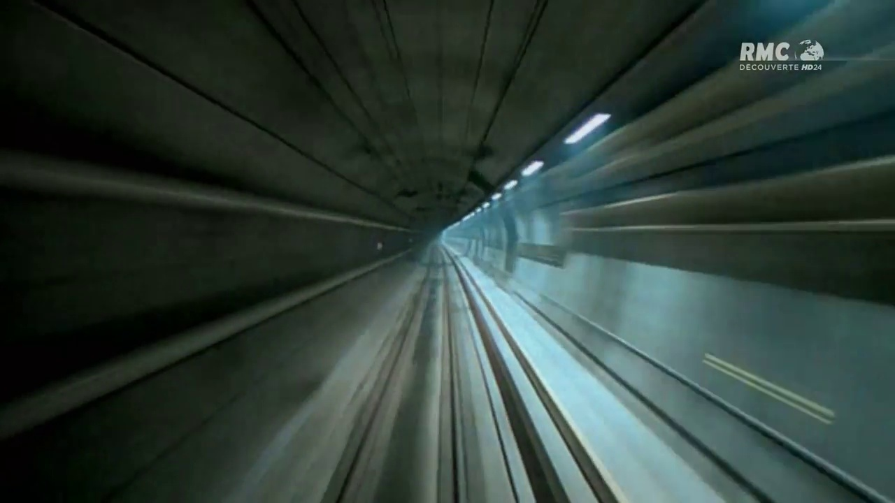 Documentaire Tunnel sous la Manche