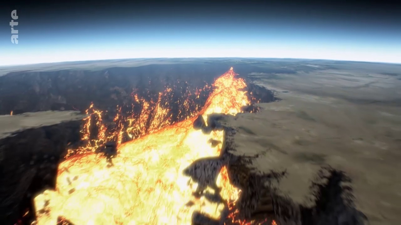 Documentaire Volcans assoupis – Des géants sous haute surveillance (2/2)