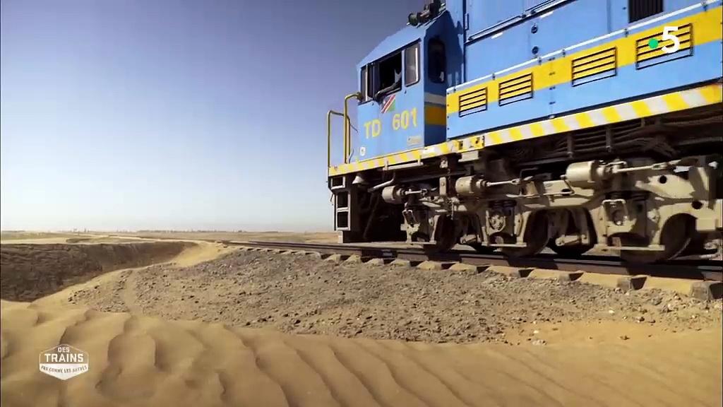 Documentaire Des trains pas comme les autres – Namibie