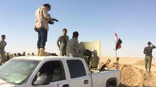 Documentaire Les dernières heures de la bataille du désert avec les milices chiites en Irak