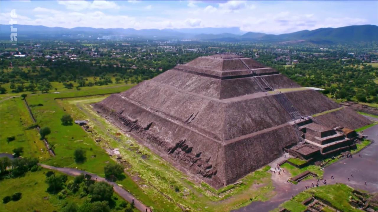 Documentaire Enquêtes Archéologiques – Teotihuacan : naissance d'une métropole