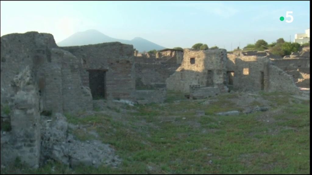 Documentaire Les vestiges de Pompei