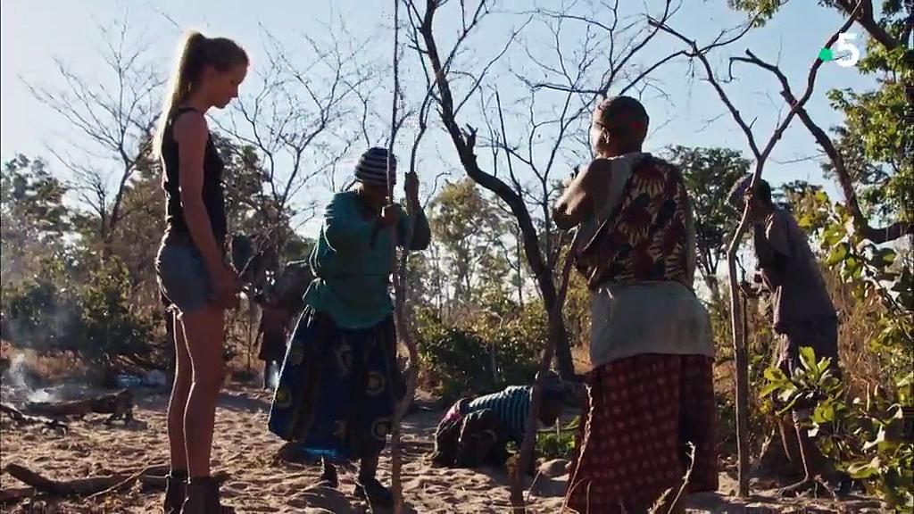 Documentaire Un mannequin chez les Bushmen