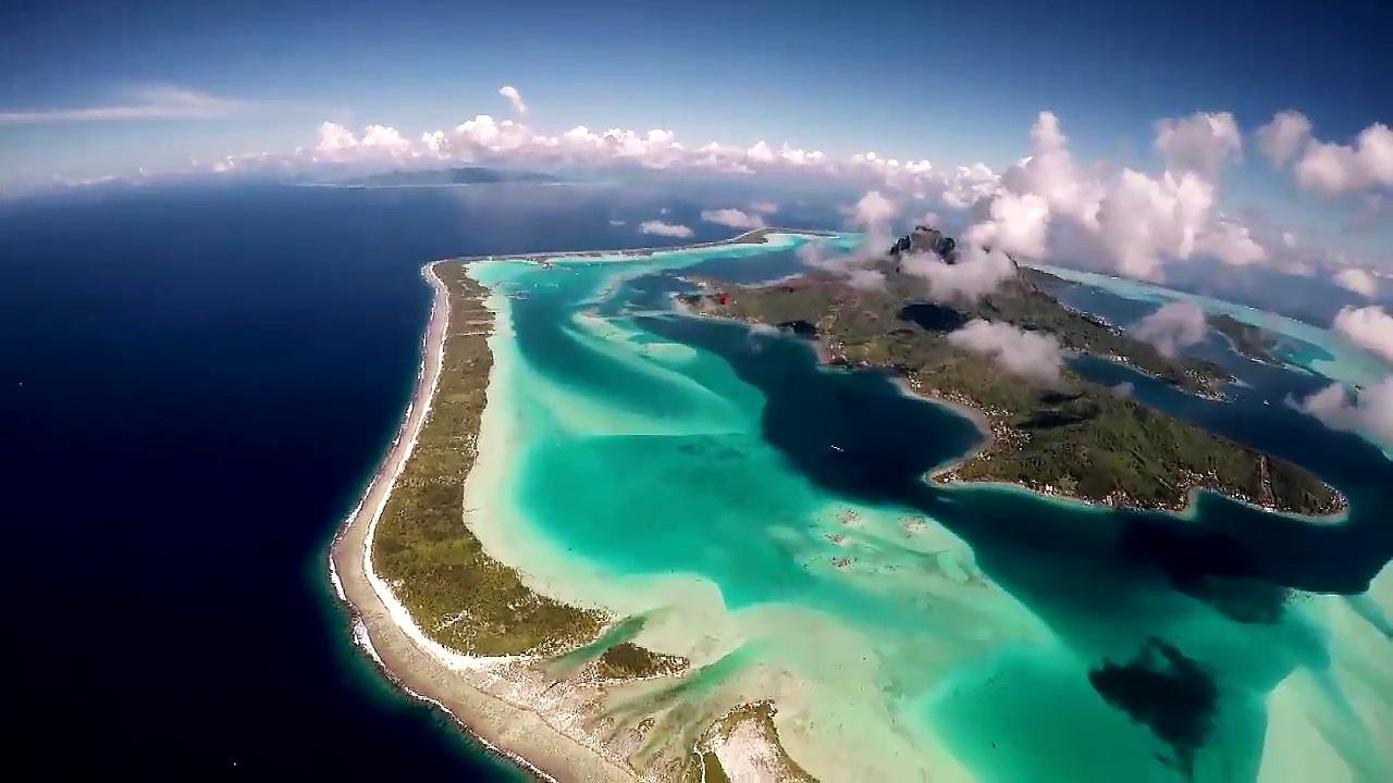 Documentaire Des ailes et des îles – Chute libre sur Bora-Bora